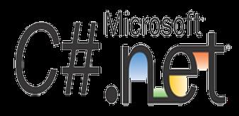 microsoft c#.net programming logo