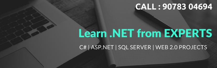 C#, ASP.net, SQL Server, Web 2.0 Project Development Training